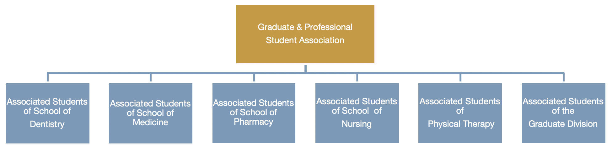 UCSF Student Government Structure Image